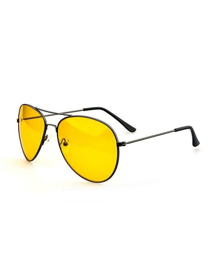 Žlté okuliare Aviator Night Vision