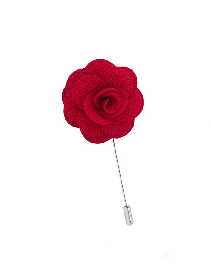red-lapel-pin
