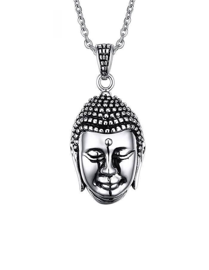 Buddha Stainless náhrdelník
