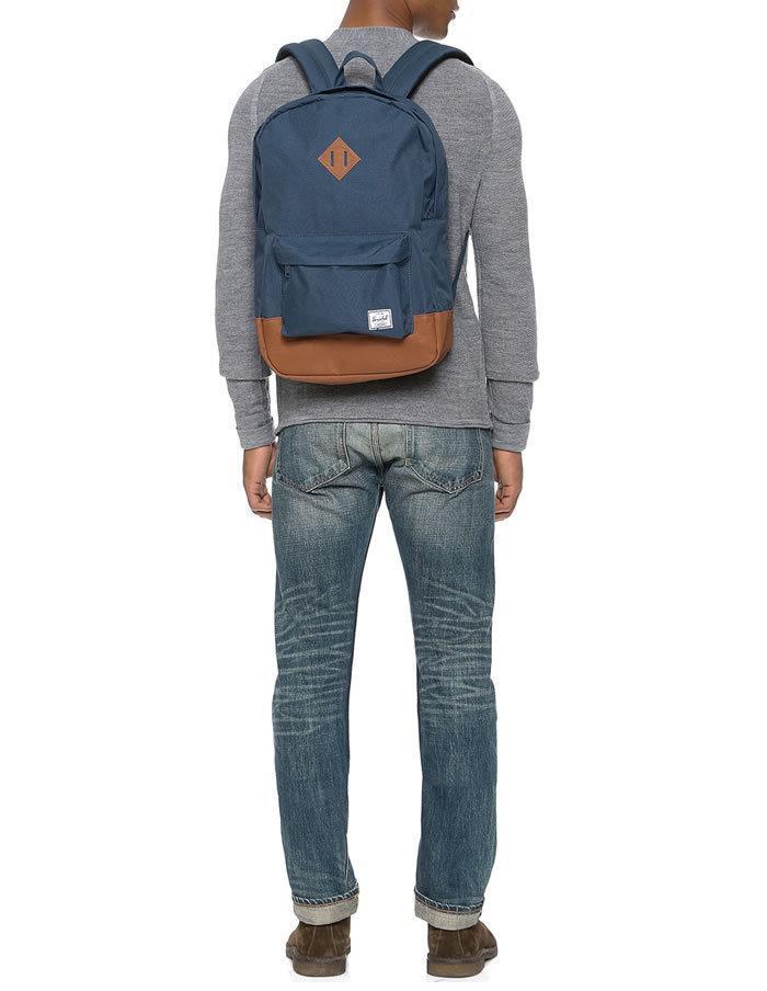 Modrý ruksak Herschel Heritage