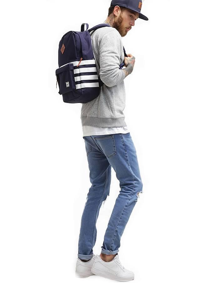 Modrý ruksak Heritage Peacoat