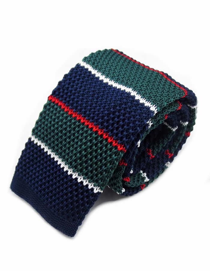 Pletená kravata BGRW