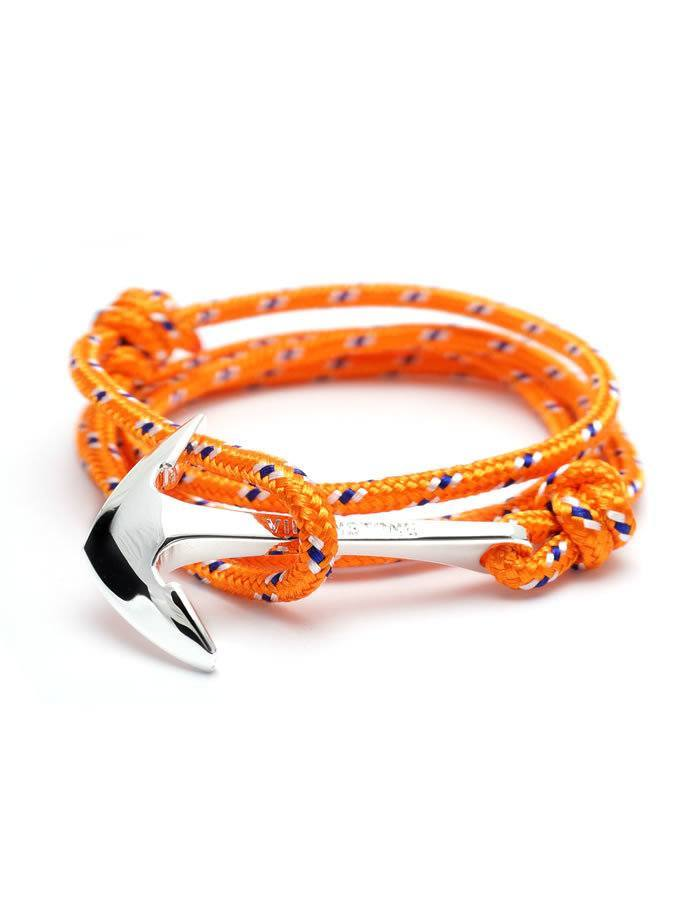 Oranžový náramok Virginstone