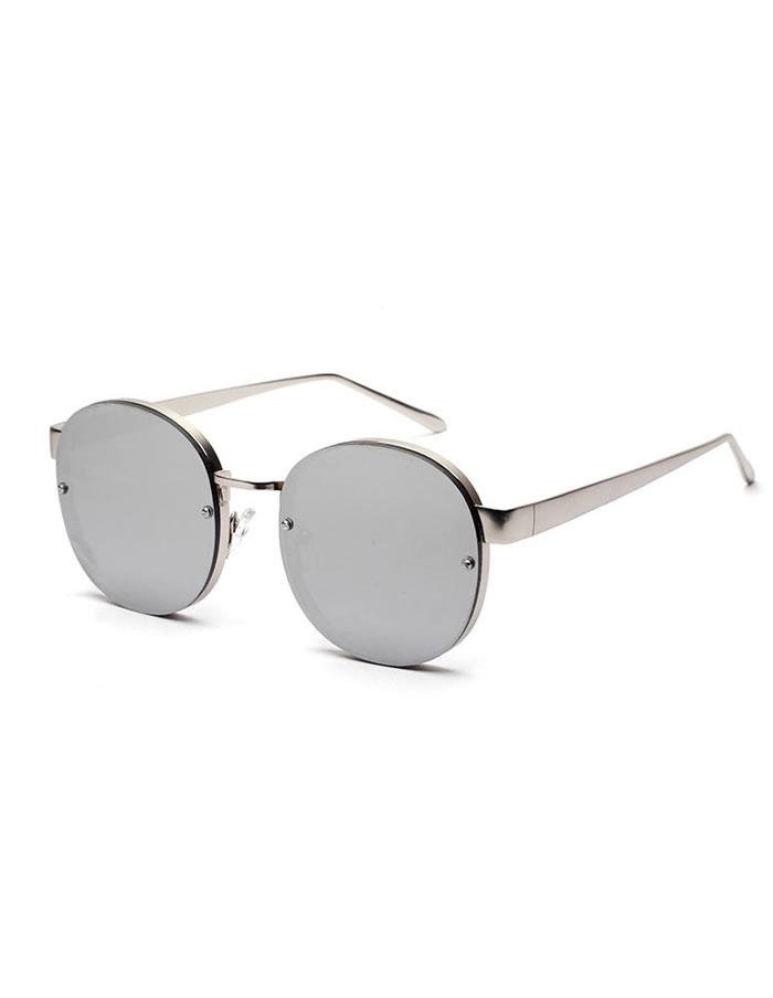 Slnečné okuliare Kendall Strieborné